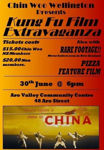 Chin Woo Movie Night